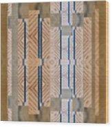 Wood And Blue Wood Print