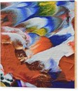 Abstract Series N1015al  Wood Print
