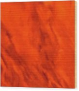 Abstract-simply Red Wood Print