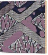 Abstract Slates Wood Print