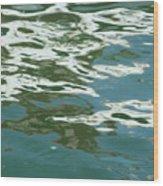 Abstract Splash Wood Print