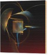 Abstract Still Life 012211 Wood Print