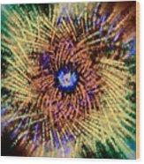 Abstract Swirl 01 Wood Print