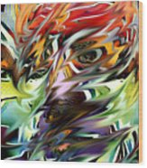Abstract Thought Wood Print