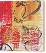 Abstract Thoughts  Wood Print