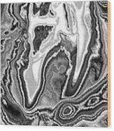 Abstract Tulip 2 Wood Print