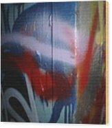 Abstract Urban Art Wood Print