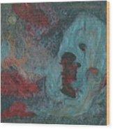 Abstract V Wr Wood Print