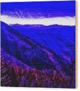 Abstract Views Wood Print