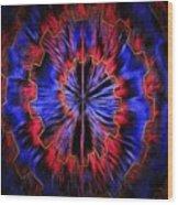 Abstract Visuals - Quantum Mechanical Headache Wood Print
