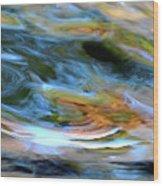 abstract water 2309DB Wood Print