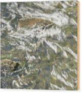 Abstract Water Art Vi Wood Print