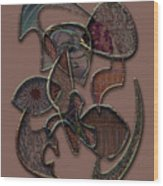 Abstract Works Wood Print
