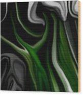 Abstract309h Wood Print