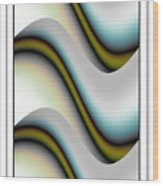 Abstract75 Wood Print