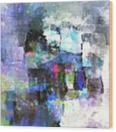 Abstract86 Wood Print