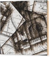 Abstracta 24 Cadenza Wood Print