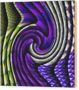 Abstracticalia Swirlia Tessalania Catus 1 No. 1 L B Wood Print