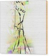 Abstraction 1222 - Marucii Wood Print
