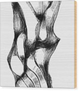 Abstraction 1807 Wood Print