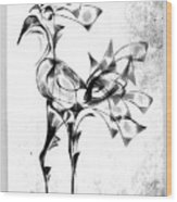 Abstraction 1809 Wood Print