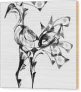 Abstraction 1810 Wood Print