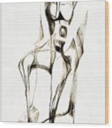 Abstraction 2181 Wood Print