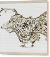 Abstraction 2249 Wood Print