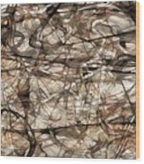 Abstraction 2339 Wood Print