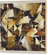 Abstraction 2398 Wood Print