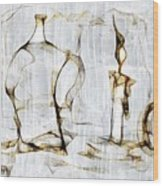 Abstraction 2426 Wood Print