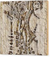 Abstraction 2568 Wood Print