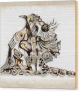 Abstraction 2740 Wood Print
