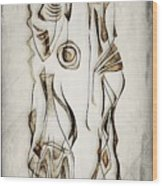 Abstraction 2819 Wood Print