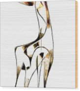 Abstraction 2916 Wood Print