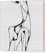 Abstraction 2917 Wood Print
