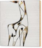 Abstraction 2920 Wood Print