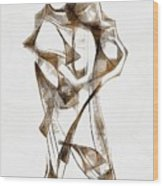 Abstraction 2924 Wood Print
