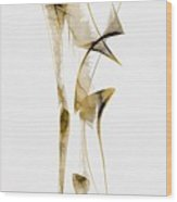 Abstraction 2938 Wood Print