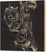 Abstraction 2969 Wood Print