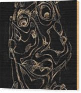 Abstraction 2978 Wood Print