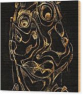 Abstraction 2979 Wood Print