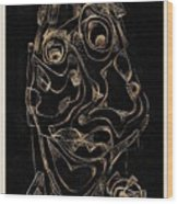 Abstraction 2982 Wood Print