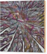 Abstraction 3096 Wood Print