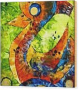 Abstraction 3198 Wood Print