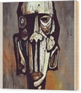Abstraction 3294 Wood Print