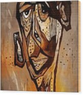 Abstraction 3299 Wood Print