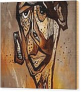 Abstraction 3300 Wood Print