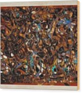 Abstraction 3377 Wood Print