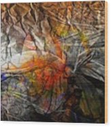Abstraction 3415 Wood Print